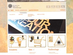 oude website Creative Use of Technology