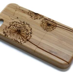 houten telefoonhoes voor Iphone of Samsung