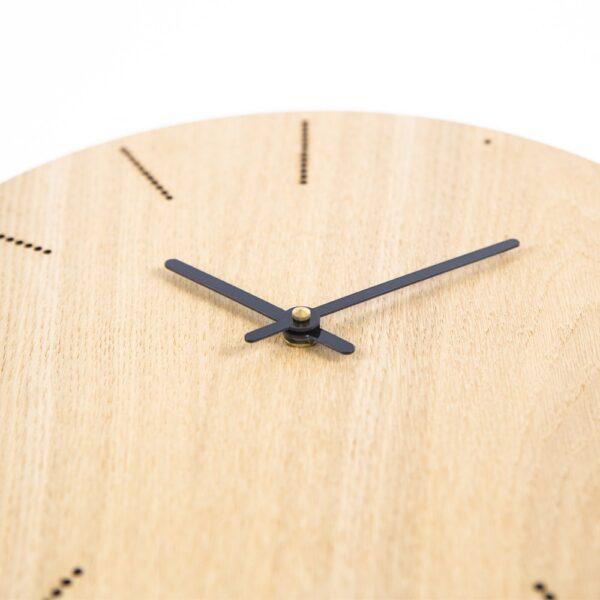 lasergesneden houten klok - lasercut wooden clock