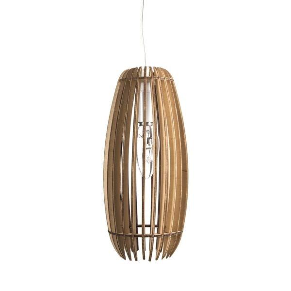 lasergeneden houten lampen - laser cut wooden lamp