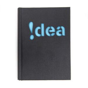 notitieboek met lasergesneden kaft - Idea - Laser cut notebook