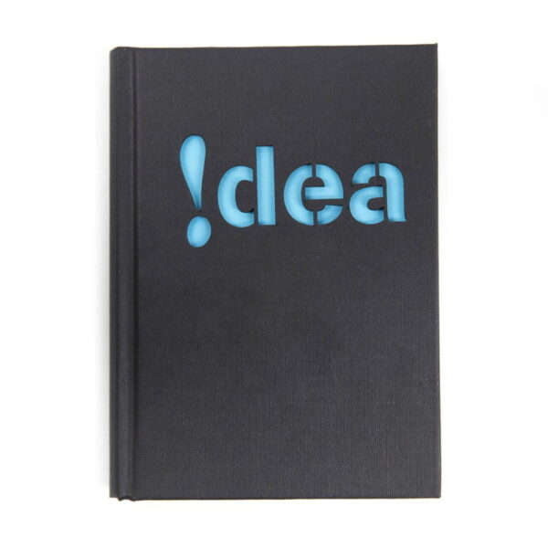 notitieboek met lasergesneden kaft - Idea - Laser cut notebook