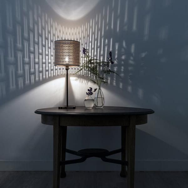 Houten lasergesneden lamp - laser cut wooden lamp