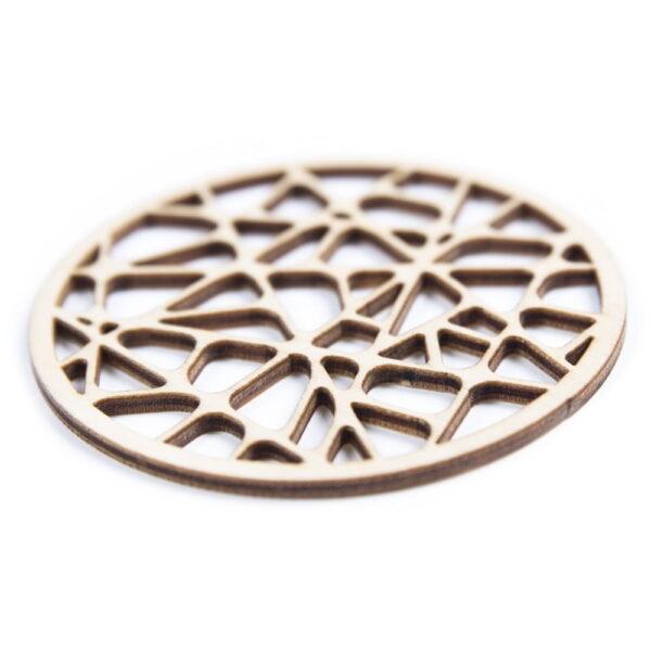 houten onderzetters - laser cut coasters