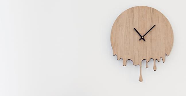houten klok lasercut