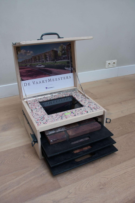 Laser graveren houten kist