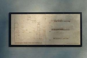 Oomen Architecten - graveren presentatie bouwproject Abdij Zundert