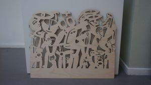 Liewke Loth - lasergesneden hout kunst