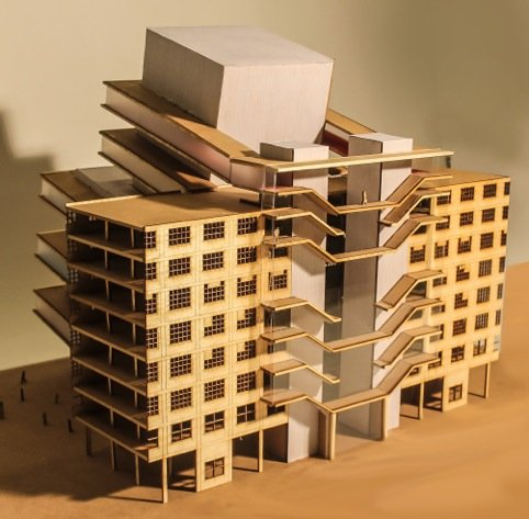 Rob Hopstaken - Maquette bouwproject