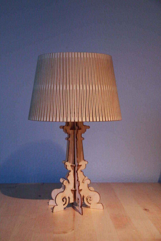Houten lasergesneden lamp - Lasercut lamp