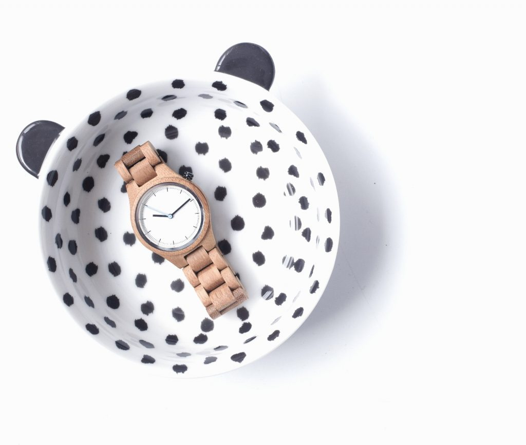 Houten horloge - wooden watch - bamboo watch - Creative Use of Technology - happy new day