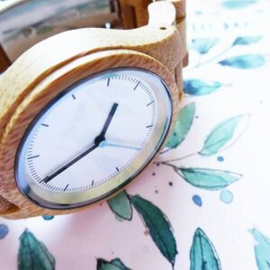 Houten horloge - wooden watch - bamboo watch