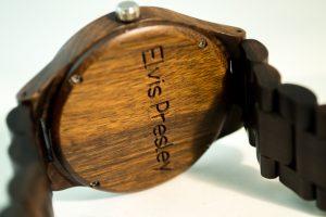 wooden watch - Elvis Prestley