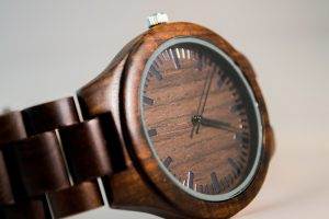 wooden watch - Elvis Prestley
