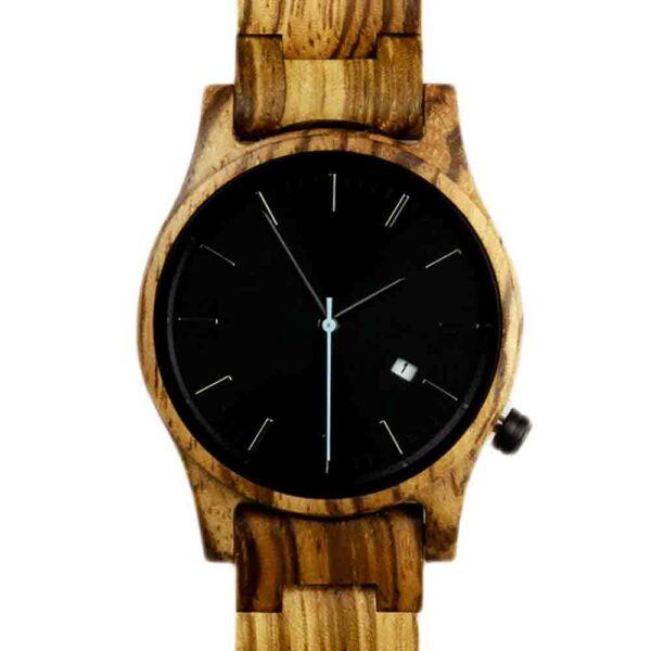 houten horloge zakelijk