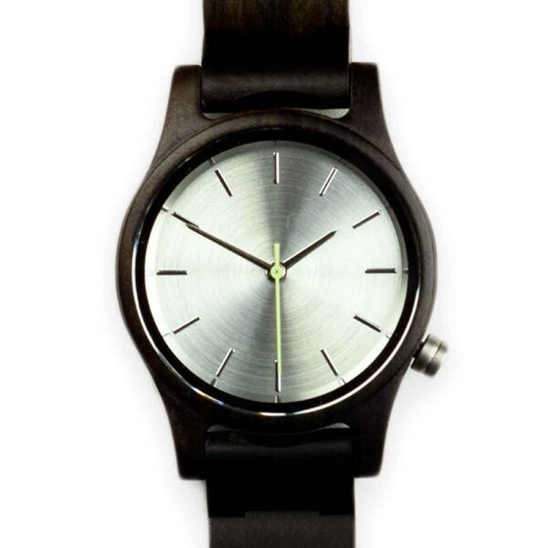 classic ladies watch made of wood