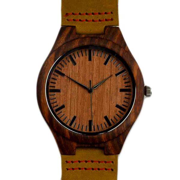 sandel houten horloge
