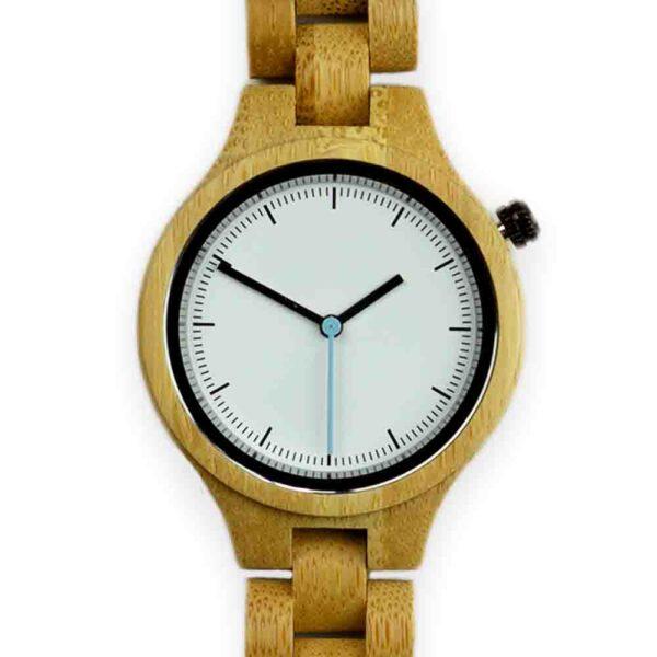 houten dames horloge