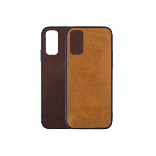 Telefoonhoesje-Bumper-Leren-Samsung-S20