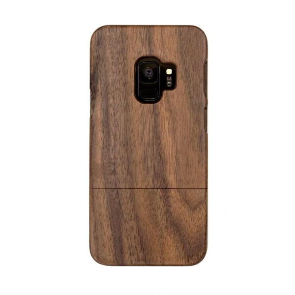 Samsung S9 hoesje - houten case - houten telefoonhoes