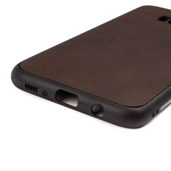 Samsung S8 PLUS hoesje - leren case - leren telefoonhoes