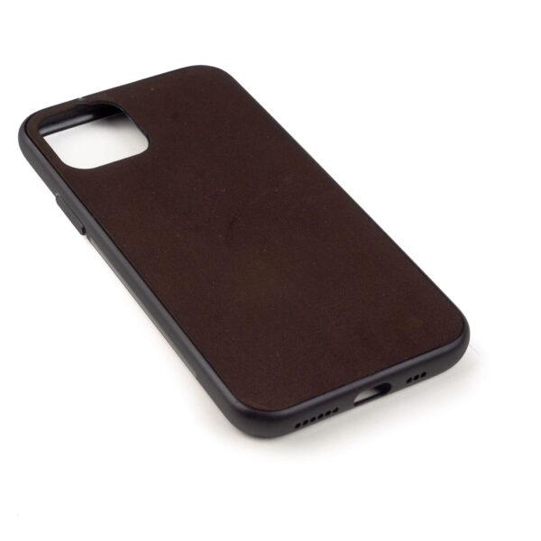 Iphone 11 hoesje - leren case - leren telefoonhoes