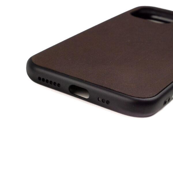 Iphone 11 Pro hoesje - leren case - leren telefoonhoes