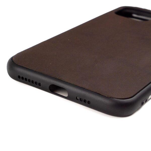 Iphone 11 Pro Max hoesje - leren case - leren telefoonhoes
