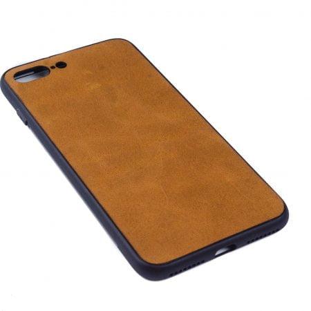 Iphone 7 en 8 PLUS hoesje - leren case - leren telefoonhoes