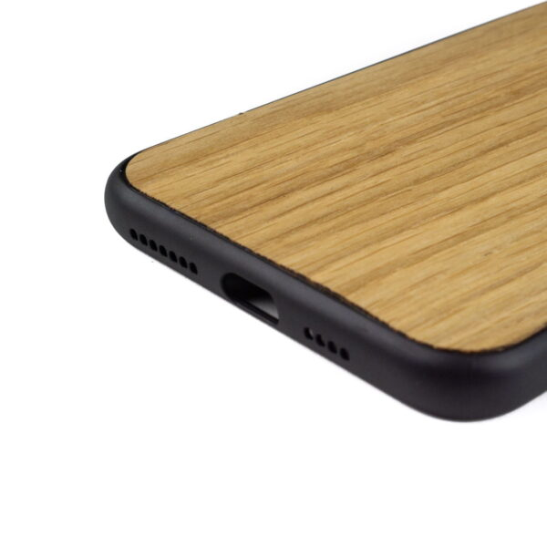 iphone 11 pro hoesje - bumper case - houten telefoonhoes