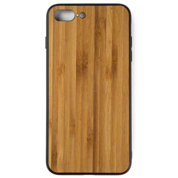 iphone 7 en 8 PLUS hoesje - bumper case - houten telefoonhoes