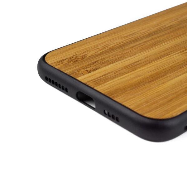 iphone XS MAX hoesje - bumper case - houten telefoonhoes