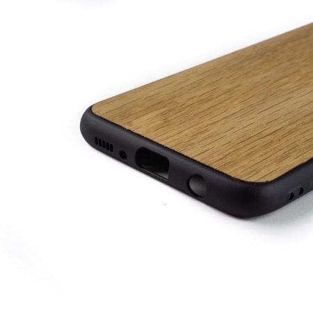 Samsung S8 hoesje - bumper case - houten telefoonhoes