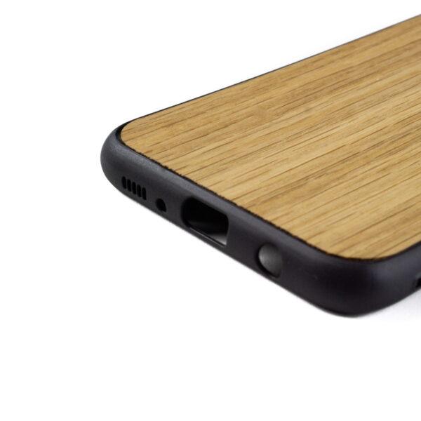 Samsung S8 PLUS hoesje - bumper case - houten telefoonhoes