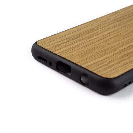 Samsung S9 hoesje - bumper case - houten telefoonhoes