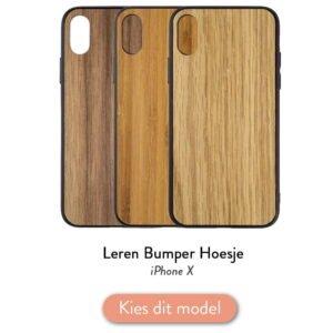 Iphone X bumper hoesje