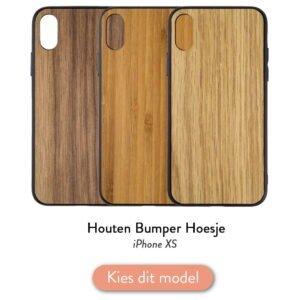 Iphone XS bumper hoesje