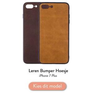 Iphone 7 Plus bumper hoesje