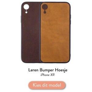 Iphone XR bumper hoesje