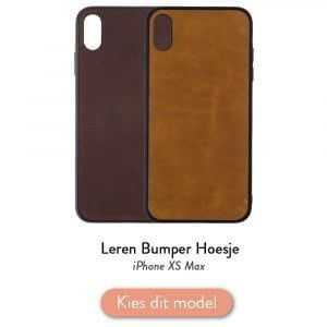 Iphone XS Max bumper hoesje
