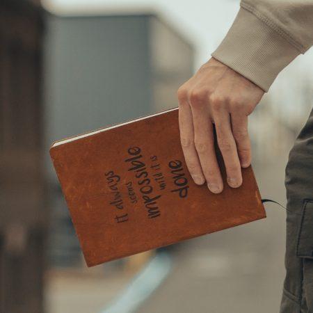 Leren notitieboekje - personaliseer - Maak je eigen ontwerp